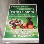 Restaurante Vegetariano, Monte Sinai in Pedro Ruiz, Peru