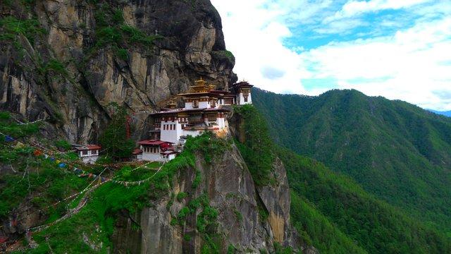 Tiger's nest monaster