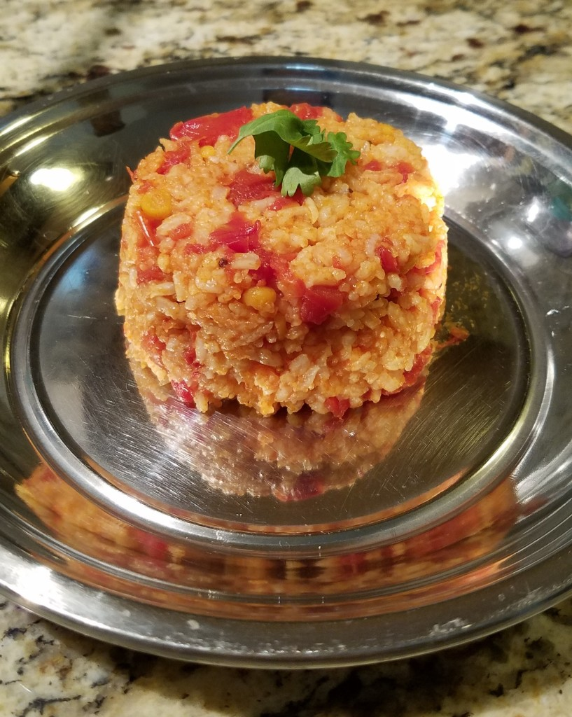South Indian Vegan Tomato Rice
